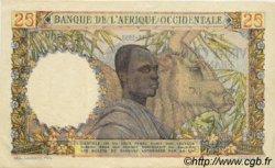 25 Francs type 1943 AFRIQUE OCCIDENTALE FRANÇAISE (1895-1958)  1953 P.38 SUP+