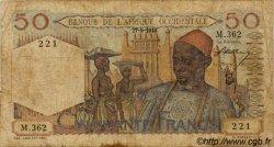 50 Francs type 1943 AFRIQUE OCCIDENTALE FRANÇAISE (1895-1958)  1944 P.39 B