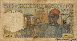 50 Francs type 1943 AFRIQUE OCCIDENTALE FRANÇAISE (1895-1958)  1947 P.39 B