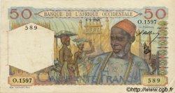 50 Francs AFRIQUE OCCIDENTALE FRANÇAISE (1895-1958)  1948 P.39 pr.SUP
