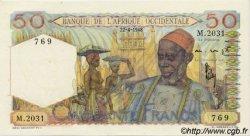 50 Francs type 1943 AFRIQUE OCCIDENTALE FRANÇAISE (1895-1958)  1948 P.39 pr.NEUF