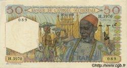 50 Francs type 1943 AFRIQUE OCCIDENTALE FRANÇAISE (1895-1958)  1950 P.39 SPL