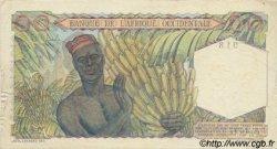 50 Francs type 1943 AFRIQUE OCCIDENTALE FRANÇAISE (1895-1958)  1951 P.39 TTB