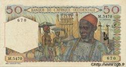 50 Francs AFRIQUE OCCIDENTALE FRANÇAISE (1895-1958)  1952 P.39 pr.SUP