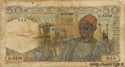 50 Francs type 1943 AFRIQUE OCCIDENTALE FRANÇAISE (1895-1958)  1953 P.39 B
