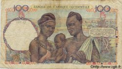 100 Francs AFRIQUE OCCIDENTALE FRANÇAISE (1895-1958)  1945 P.40 TB