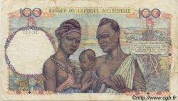 100 Francs AFRIQUE OCCIDENTALE FRANÇAISE (1895-1958)  1945 P.40 TB+
