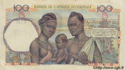 100 Francs AFRIQUE OCCIDENTALE FRANÇAISE (1895-1958)  1945 P.40 TTB