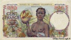 100 Francs type 1943 AFRIQUE OCCIDENTALE FRANÇAISE (1895-1958)  1945 P.40 SUP