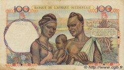 100 Francs AFRIQUE OCCIDENTALE FRANÇAISE (1895-1958)  1946 P.40 TB+