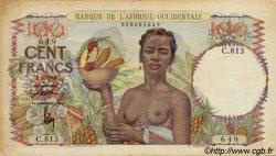 100 Francs type 1943 AFRIQUE OCCIDENTALE FRANÇAISE (1895-1958)  1946 P.40 TTB
