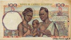 100 Francs AFRIQUE OCCIDENTALE FRANÇAISE (1895-1958)  1946 P.40 TTB