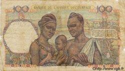 100 Francs type 1943 AFRIQUE OCCIDENTALE FRANÇAISE (1895-1958)  1947 P.40 B+