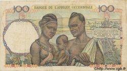 100 Francs type 1943 AFRIQUE OCCIDENTALE FRANÇAISE (1895-1958)  1947 P.40