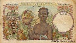 100 Francs AFRIQUE OCCIDENTALE FRANÇAISE (1895-1958)  1948 P.40 TB