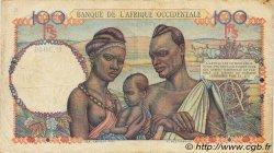 100 Francs type 1943 AFRIQUE OCCIDENTALE FRANÇAISE (1895-1958)  1948 P.40 TTB