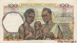100 Francs AFRIQUE OCCIDENTALE FRANÇAISE (1895-1958)  1948 P.40 SUP à SPL