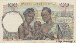100 Francs type 1943 AFRIQUE OCCIDENTALE FRANÇAISE (1895-1958)  1948 P.40 SUP