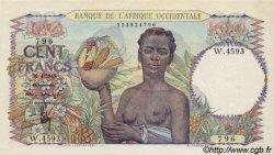 100 Francs AFRIQUE OCCIDENTALE FRANÇAISE (1895-1958)  1948 P.40 SPL