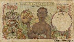 100 Francs type 1943 AFRIQUE OCCIDENTALE FRANÇAISE (1895-1958)  1948 P.40 B