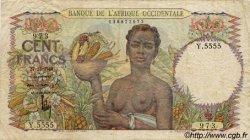 100 Francs AFRIQUE OCCIDENTALE FRANÇAISE (1895-1958)  1948 P.40 pr.TB