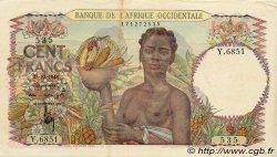 100 Francs type 1943 AFRIQUE OCCIDENTALE FRANÇAISE (1895-1958)  1948 P.40 TTB+