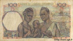 100 Francs AFRIQUE OCCIDENTALE FRANÇAISE (1895-1958)  1949 P.40 TB