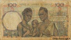 100 Francs type 1943 AFRIQUE OCCIDENTALE FRANÇAISE (1895-1958)  1949 P.40 B