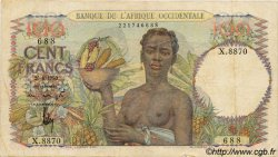 100 Francs AFRIQUE OCCIDENTALE FRANÇAISE (1895-1958)  1950 P.40 TB