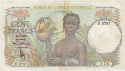 100 Francs AFRIQUE OCCIDENTALE FRANÇAISE (1895-1958)  1950 P.40 TTB