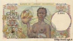 100 Francs type 1943 AFRIQUE OCCIDENTALE FRANÇAISE (1895-1958)  1950 P.40 SUP