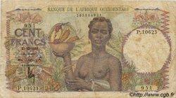 100 Francs type 1943 AFRIQUE OCCIDENTALE FRANÇAISE (1895-1958)  1950 P.40 B