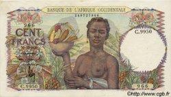 100 Francs AFRIQUE OCCIDENTALE FRANÇAISE (1895-1958)  1950 P.40 SUP