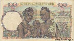 100 Francs type 1943 AFRIQUE OCCIDENTALE FRANÇAISE (1895-1958)  1951 P.40 TTB+