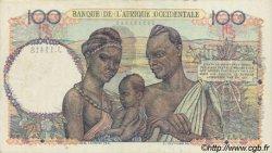 100 Francs type 1943 AFRIQUE OCCIDENTALE FRANÇAISE (1895-1958)  1951 P.40 SUP