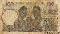 100 Francs type 1943 AFRIQUE OCCIDENTALE FRANÇAISE (1895-1958)  1951 P.40 B