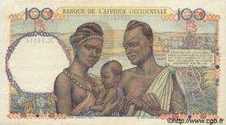 100 Francs AFRIQUE OCCIDENTALE FRANÇAISE (1895-1958)  1951 P.40 pr.TTB