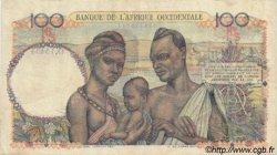 100 Francs type 1943 AFRIQUE OCCIDENTALE FRANÇAISE (1895-1958)  1952 P.40 pr.TTB