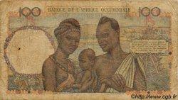 100 Francs type 1943 AFRIQUE OCCIDENTALE FRANÇAISE (1895-1958)  1953 P.40 B