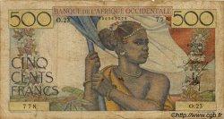 500 Francs type 1943 AFRIQUE OCCIDENTALE FRANÇAISE (1895-1958)  1946 P.41 B+
