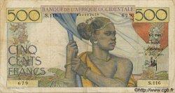 500 Francs type 1943 AFRIQUE OCCIDENTALE FRANÇAISE (1895-1958)  1948 P.41 pr.TTB