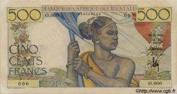 500 Francs type 1943 AFRIQUE OCCIDENTALE FRANÇAISE (1895-1958)  1946 P.41s TTB+