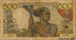 500 Francs AFRIQUE OCCIDENTALE FRANÇAISE (1895-1958)  1948 P.41 B