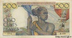 500 Francs type 1943 AFRIQUE OCCIDENTALE FRANÇAISE (1895-1958)  1948 P.41 TTB+