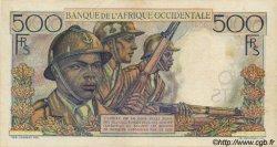 500 Francs AFRIQUE OCCIDENTALE FRANÇAISE (1895-1958)  1948 P.41 TTB+ à SUP