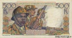 500 Francs type 1943 AFRIQUE OCCIDENTALE FRANÇAISE (1895-1958)  1948 P.41 SUP