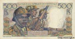 500 Francs type 1943 AFRIQUE OCCIDENTALE FRANÇAISE (1895-1958)  1948 P.41 SUP+