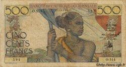 500 Francs type 1943 AFRIQUE OCCIDENTALE FRANÇAISE (1895-1958)  1948 P.41 B