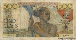 500 Francs type 1943 AFRIQUE OCCIDENTALE FRANÇAISE (1895-1958)  1950 P.41 TB