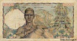 1000 Francs type 1945 AFRIQUE OCCIDENTALE FRANÇAISE (1895-1958)  1946 P.42 TB
